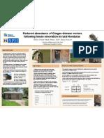 EPID 658 Poster 2009 - Chagas Disease in Honduras