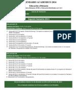 2014 Calendario Academico Md 2 Sem 20140818 - V30!12!13