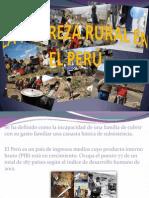 La Pobreza Rural en El Perú