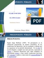 Presupuesto Publico Clase 19-05-2014