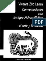 Vicente Zito Lema - Conversasciones Con Enrique Pichon Riviere