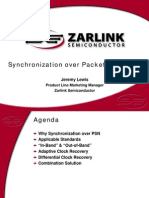 Synchronization Over Packet Networks2