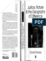 HARVEY, David - Justice, Nature & the Geography of Difference