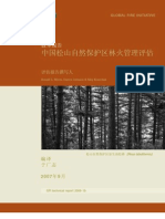 Songshan Fire Assessment in Chinese