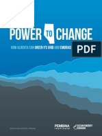 Power to Change, Pembina Institute