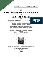 La Philosophie Occulte. Livre III