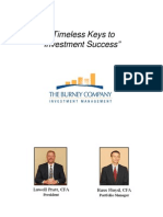 Timeless Keys to Investment Success
