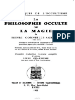 La Philosophie Occulte. Livre  IV