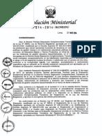RM N° 214-2014-MINEDU   convocan a concurso de directores