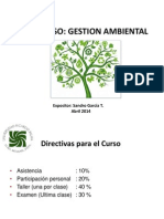Curso ISO 14001 Abril 2014
