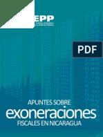 Apuntes Exoneraciones Fiscales Nicaragua