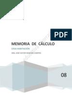 120093_calculo Estructural Casa Habitacion