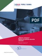 Mejores Maestros, Balance de Políticas Docentes 2010-2011