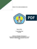 Cover Tugas Hidrologi