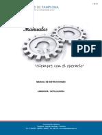 Manual de Limadora en Proceso