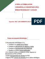 Guia Formulación de PDC REgional y Local l.a. Ver 12.2012