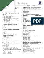Examen Quimica Periodo 7