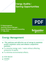 Energy saving opportunities by Schneider electric