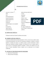 Informe Psicologico Julio Iglesias
