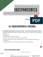 Ejemplos de Correspondencia