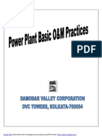 Power Plant Basic O&M Practices