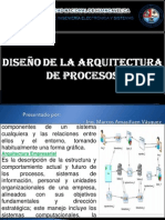 Diseño de La Arquitectura de Procesos