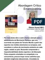 Abordagem Crítico Emancipatória eleanor.ppt