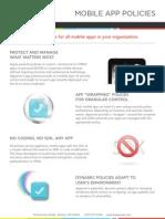 Apperian App Policies
