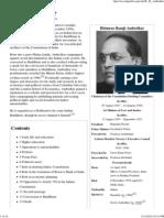 B. R. Ambedkar - Wikipedia, The Free Encyclopedia