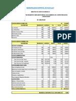 Presupuesto Analítico
