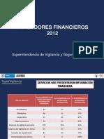 Indicadores Financieros 2012