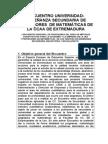 ENCUENTRO DE PROFESORES  DE MATEMÁTICAS APLICADAS A LAS CC.doc