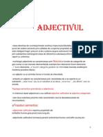 Curs Morfologie 24.04.2014(Adjectivul)