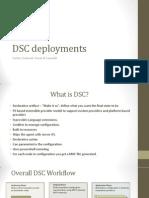 DSC Deployments