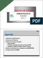 Tema 1 - Instalacion y Configuracion de Un SGBD