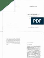 Umberto Eco - Lector in Fabula (Texto Original)