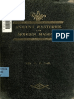 7031682 Ancient Mysteries and Modern Masonry 1909 by the Rev Charles H