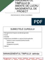 c 4 Managementul Timpului Și Instrumente de Lucru În Managementul