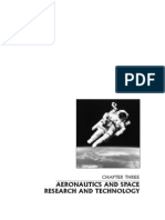 Aeronautics and space research and technology