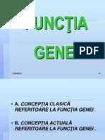 Curs 4 MG Functia Genei