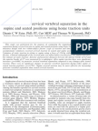 Comparison of Cervical Vertebral Separation in the Supine and Seated Positions Using Home Traction Units.