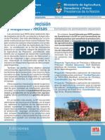 Agricultura de Precision y Maquinas Precisas