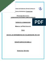 USO DE LAS HERRAMIENTAS DE COLABORACION IRC E IM.docx