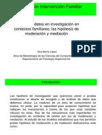 Spss Analisis Regresion Variables Mediadoras vs Moderadoras