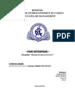 Managementul proiectelor PROIECT