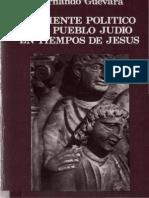 Guevara Hernando Ambiente Politico Del Pueblo Judio en Tiempos de Jesus