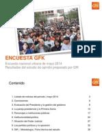 GfK, Encuesta de Mayo,2014