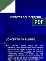 CLASES Fuentes Del Derecho S2