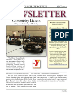 Albany County Sheriff May 2014 Newsletter