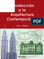 Introduccion a La Arquitectura Contemporanea